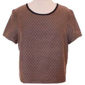 """BCBGeneration Woven Top in """"Nectar"""" NWT- Sz. Lrg"""